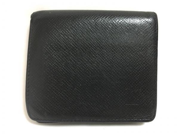 ルイヴィトン 2つ折り財布 タイガ ポルト ビエ・3カルト クレディ M30452 カーフ