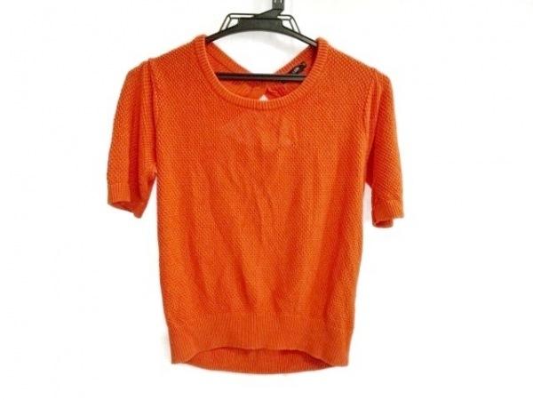 LOVELESS(ラブレス) 半袖セーター サイズ36 S レディース オレンジ
