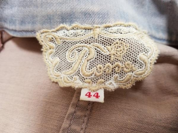 ロッサ ジャケット サイズ44 L レディース ライトブルー×マルチ 花柄/刺繍/レース