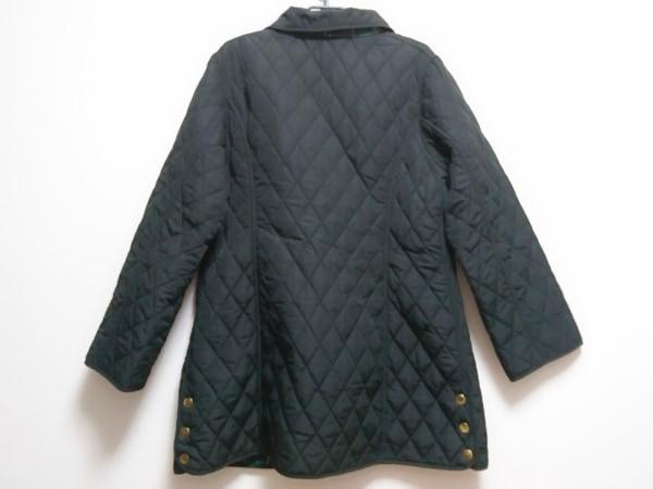OTTO(オットー) コート サイズLL レディース美品  黒 リバーシブル/キルティング/冬物