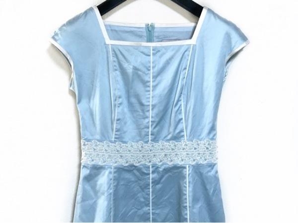 Austin Reed(オースチンリード) ドレス サイズ36 M レディース ライトブルー ビーズ