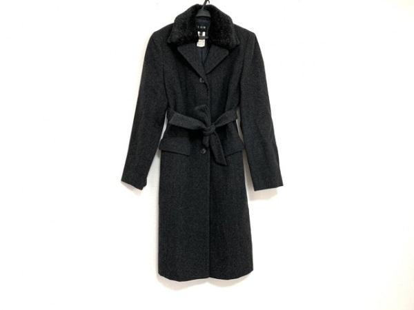 ICB(アイシービー) コート サイズ9 M レディース美品  グレー 冬物