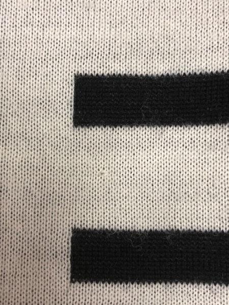 JeanPaulGAULTIER(ゴルチエ) スカート サイズ38 M レディース アイボリー×黒 ニット
