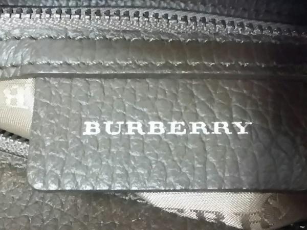 Burberry(バーバリー) ハンドバッグ ダークブラウン×ベージュ×マルチ チェック柄