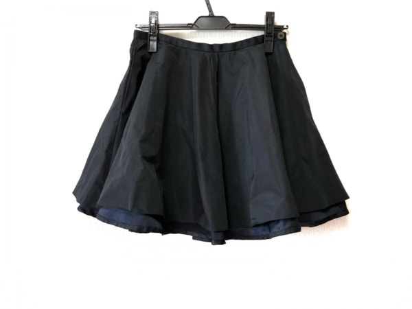 プティローブノアー バルーンスカート サイズS レディース美品  黒