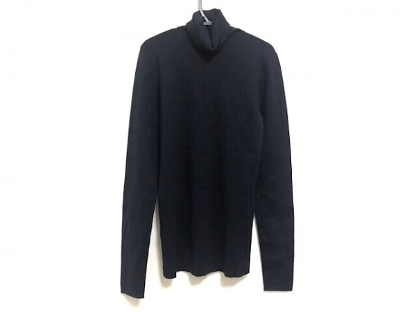 ジョセフ 長袖セーター サイズM レディース美品  ダークネイビー タートルネック