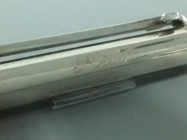 TIFFANY&Co.(ティファニー) ボールペン クラシックT シルバー ネーム刻印