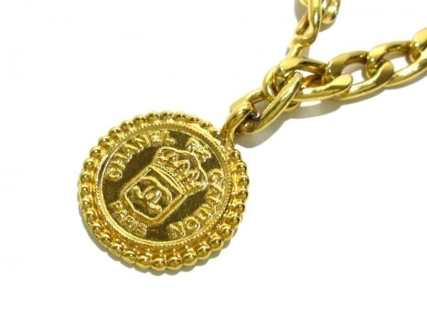 CHANEL(シャネル) ネックレス美品  金属素材 ゴールド