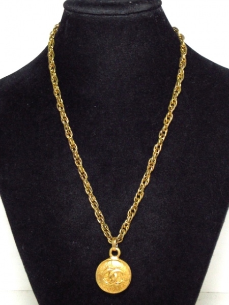 CHANEL(シャネル) ネックレス 金属素材 ゴールド ココマーク