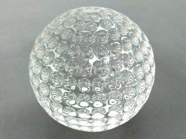 ティファニー 小物新品同様  クリア ゴルフボール/ペーパーウェイト ガラス