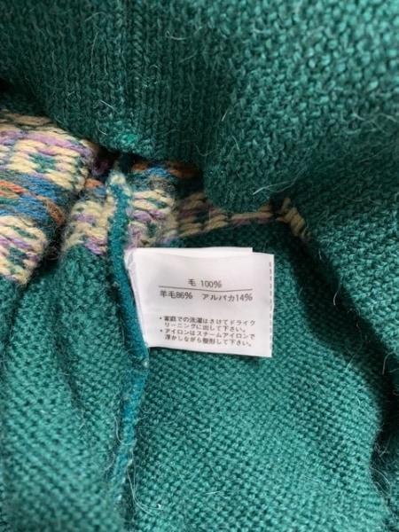 ダンヒル 長袖セーター メンズ美品  グリーン×パープル×マルチ SPORT