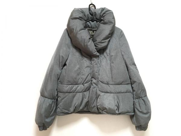 YEVS(イーブス) ダウンコート サイズM レディース美品  グレー 冬物/ショート丈