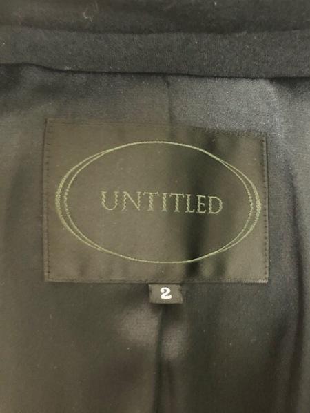 アンタイトル スカートスーツ サイズ2 M レディース美品  アイボリー×黒×レッド