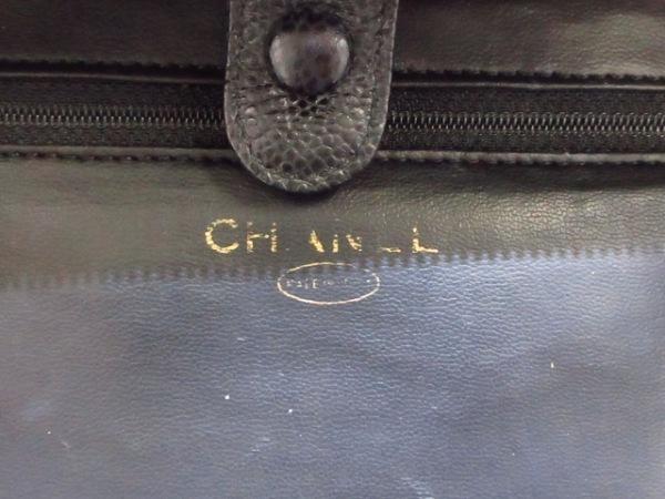 CHANEL(シャネル) バニティバッグ - 黒 ゴールド金具 キャビアスキン