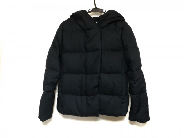 PLS+T(PLST)(プラステ) ダウンジャケット サイズS レディース美品  黒 冬物