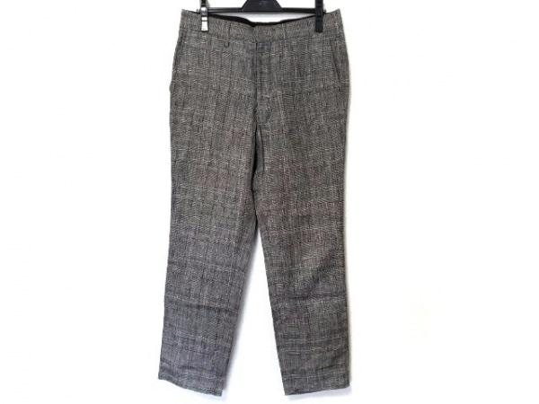 ビューティフルピープル パンツ サイズM レディース 黒×グレー チェック柄