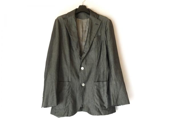 Takizawa Shigeru(タキザワシゲル) ジャケット サイズ46 XL メンズ 黒