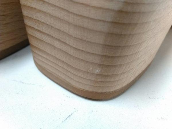 HERMES(エルメス) サンダル 38 レディース美品  ケブラール 黒 Hマーク レザー