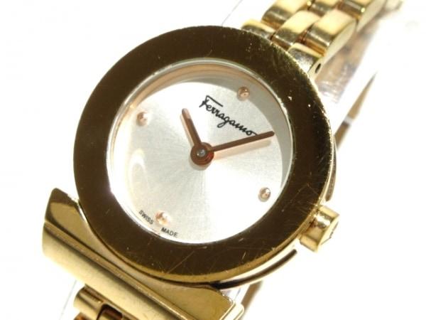 フェラガモ 腕時計 ガンチーニブレスレット - レディース シルバー