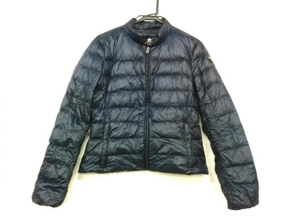 PRADA SPORT(プラダスポーツ) ダウンジャケット サイズ42 M レディース美品  ネイビー