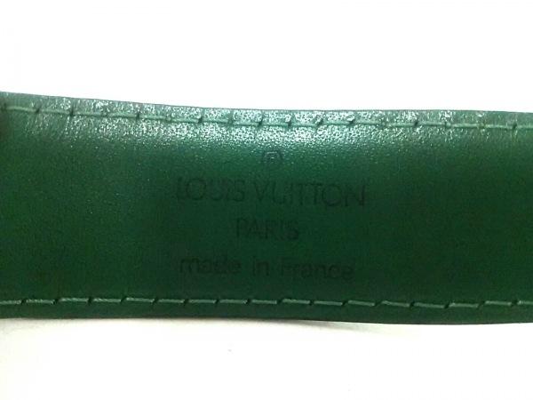 ルイヴィトン ベルト エピ サンチュールクラシックエピ R15014 ボルネオグリーン