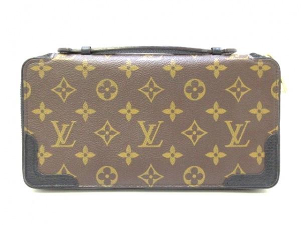 ルイヴィトン 財布 モノグラムマカサー美品  デイリー・オーガナイザー M60679