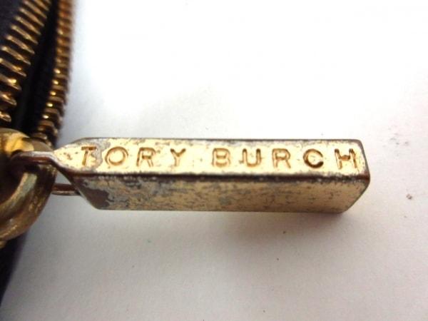 TORY BURCH(トリーバーチ) 長財布 黒 ラウンドファスナー レザー 5