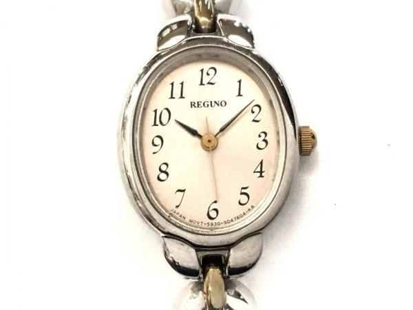 REGUNO(レグノ) 腕時計 5930-S028337 レディース ベージュ