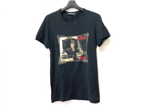 ドルチェアンドガッバーナ 半袖Tシャツ サイズ44 L レディース 転写プリント