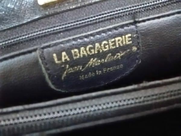 LA BAGAGERIE(ラバガジェリー) ハンドバッグ 黒 レザー