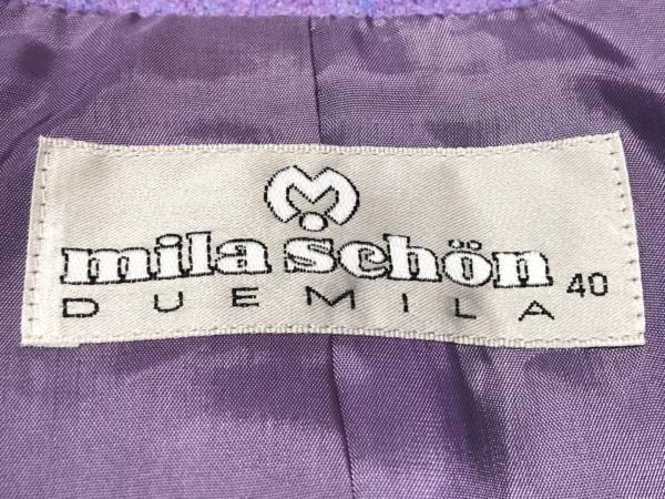 mila schon(ミラショーン) ジャケット サイズ40 M レディース美品  パープル