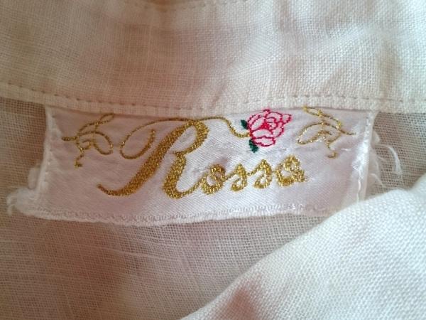 ROSSA(ロッサ) 長袖シャツブラウス サイズ46 XL レディース アイボリー×ゴールド