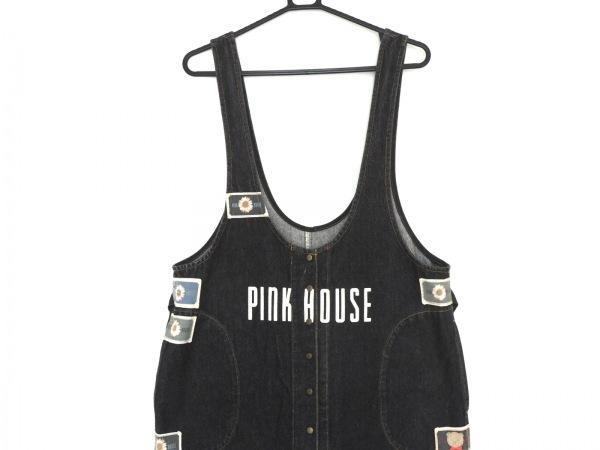 PINK HOUSE(ピンクハウス) ワンピース レディース 黒 デニム