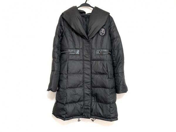 Castelbajac(カステルバジャック) ダウンコート サイズ42 L レディース美品  黒