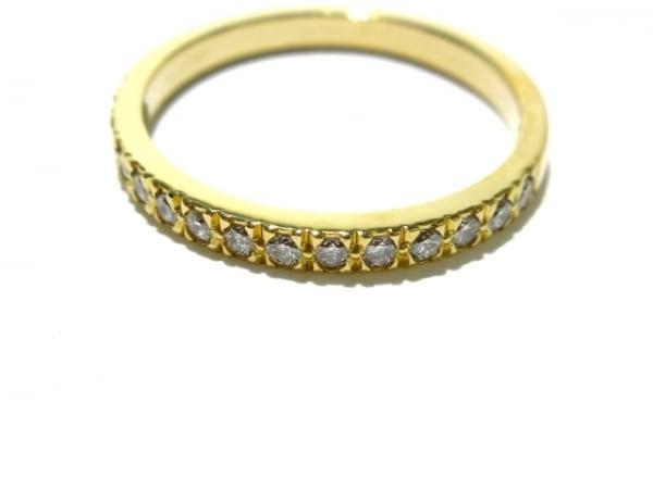TIFFANY&Co.(ティファニー) リング美品  ハーフサークルダイヤ K18YG×ダイヤモンド