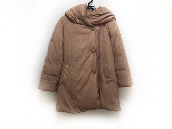 ミッシェルクラン ダウンコート サイズ38 M レディース美品  ベージュ 冬物