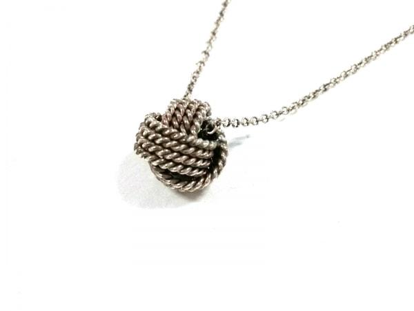 TIFFANY&Co.(ティファニー) ネックレス美品  ツイストノット シルバー