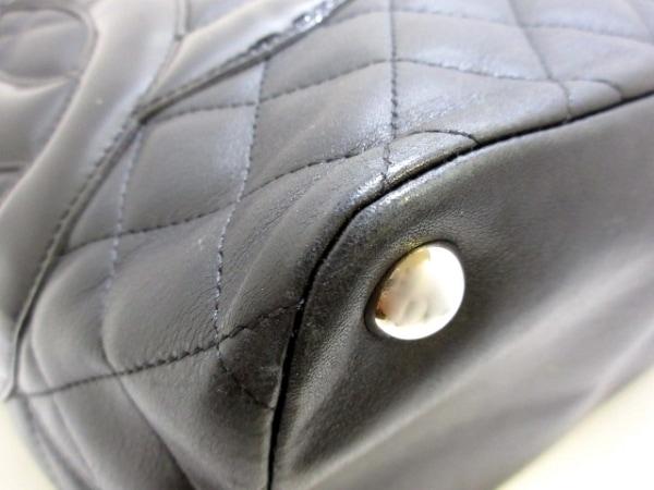 CHANEL(シャネル) トートバッグ カンボンラインラージトート A25169 黒 シルバー金具