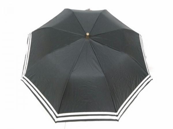 Athena(アシーナ) 日傘 黒×アイボリー 化学繊維