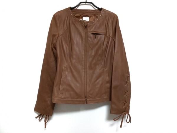 Cara(カーラ) ジャケット サイズLLC レディース美品  ブラウン レザー