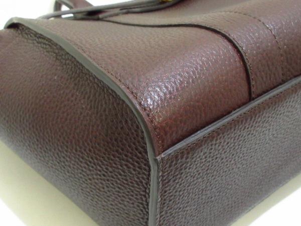 マルベリー ハンドバッグ美品  スモールジップドベイズウォーター HH4382/346K195
