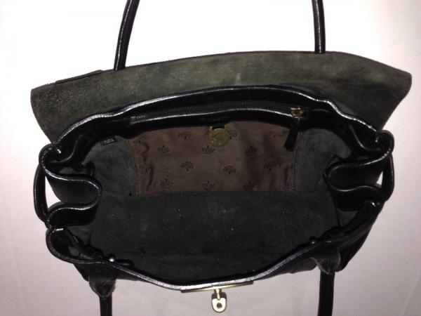 MULBERRY(マルベリー) ハンドバッグ - 黒 レザー