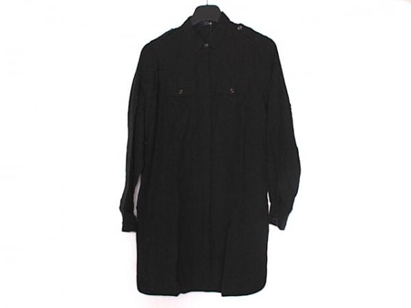 バーバリーロンドン ワンピース サイズ38 L レディース美品  黒 シャツワンピ