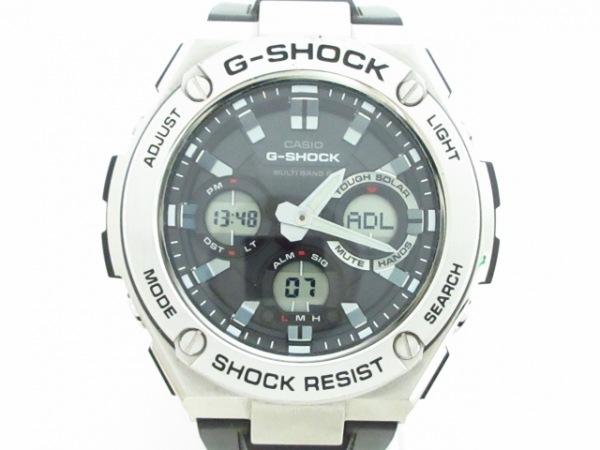 CASIO(カシオ) 腕時計美品  G-SHOCK GST-W110 メンズ 黒