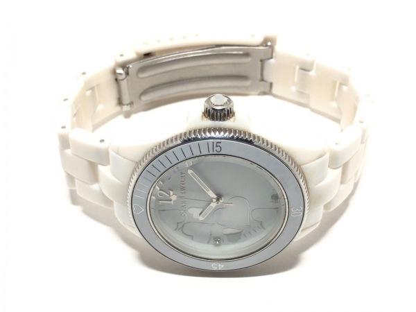 STAR JEWELRY(スタージュエリー) 腕時計 - レディース ハート 白