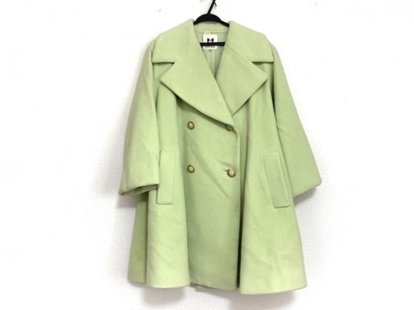 MUSEE D'UJI(ミュゼドウジ) コート サイズ38 M レディース美品  ライトグリーン 冬物