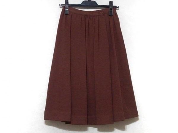 JURGEN LEHL(ヨーガンレール) スカート サイズ9 M レディース ブラウン