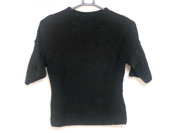 トリココムデギャルソン 半袖セーター レディース美品  黒 AD2013
