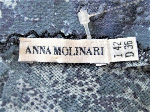 ANNA MOLINARI(アンナモリナーリ) 長袖Tシャツ サイズ42(I) M レディース シースルー