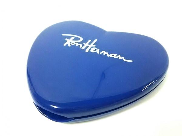 Ron Herman(ロンハーマン) ミラー美品  ブルー ハート プラスチック×ガラス